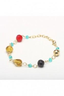 Prismatic Bead Bracelet