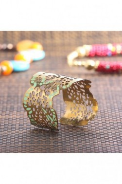 Pitted Brass Cuff