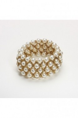 Mesh Pearl Bracelet