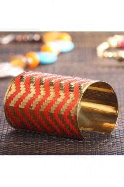 Diagonal Pattern Cuff