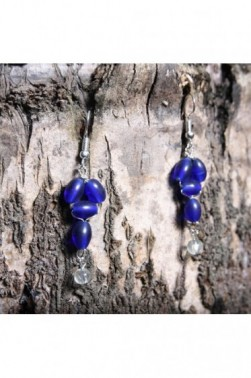 Glass Lantern Earrings
