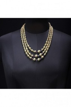 Formal Gold Necklace