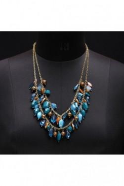Gemstone-style Necklace