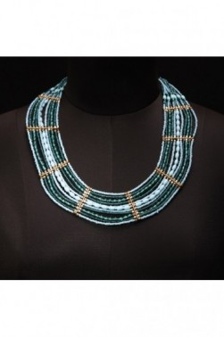 Mesh Turquoise Necklace