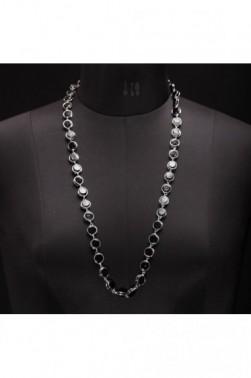 Dark Marble Necklace