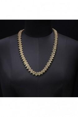 Threaded Iron Necklace