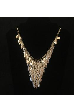 Shimmering Leaf Necklace