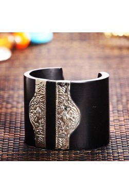 Inlaid Resin Cuff