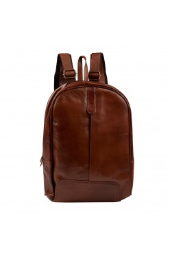 Soft Leather Lightweight Backpack