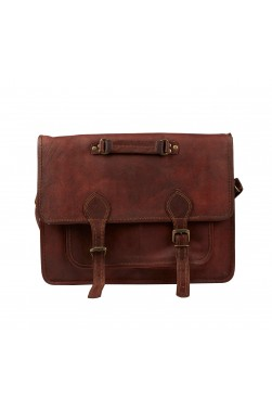 Vintage Look Leather Sling Bag