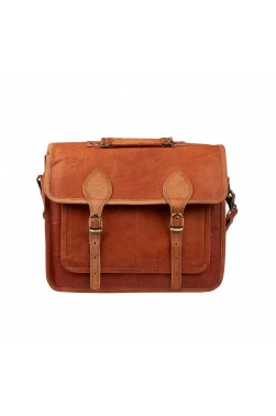Men's Business Shoulder Leather Bag