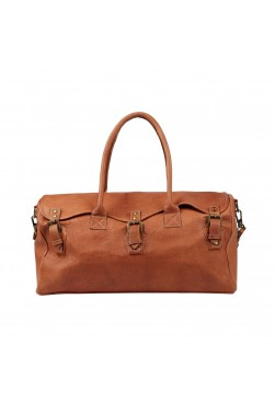 The Weekender Leather Duffle Bag
